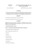 Nghị định số 116/2011/NĐ-CP