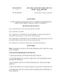 Quyết định số 1098/QĐ-BXD