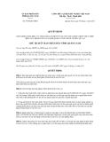 Quyết định số 3955/QĐ-UBND