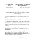 Quyết định số 09/2011/QĐ-UBND