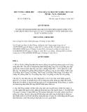 Quyết định số 2137/QĐ-TTg