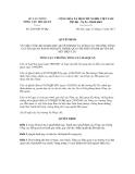 Quyết định số 2638/QĐ-TCHQ