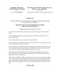Quyết định số  32/2011/NQ-HĐND