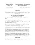 Nghị quyết số 43/2011/NQ-HĐND