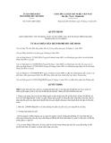 Nghị quyết số 81/2011/QĐ-UBND