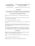 Nghị quyết số 84/2011/QĐ-UBND