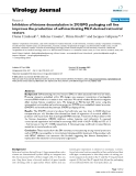 """Báo cáo hóa học: """" Inhibition of histone deacetylation in 293GPG packaging cell line improves the production of self-inactivating MLV-derived retroviral vectors"""""""