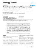 """Báo cáo hóa học: """" Nucleotide mismatches between the VP7 gene and the primer are associated with genotyping failure of a specific lineage from G1 rotavirus strains"""""""