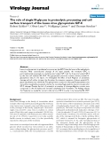 """Báo cáo hóa học: """" The role of single N-glycans in proteolytic processing and cell surface transport of the Lassa virus glycoprotein GP-C"""""""