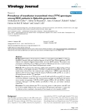 """Báo cáo hóa học: """" Prevalence of transfusion transmitted virus (TTV) genotypes among HCC patients in Qaluobia governorate"""""""