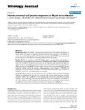 "Báo cáo hóa học: ""  Human neuronal cell protein responses to Nipah virus infection"""
