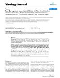 "Báo cáo hóa học: ""  Iota-Carrageenan is a potent inhibitor of rhinovirus infection"""