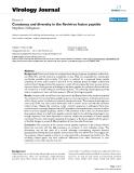 "Báo cáo hóa học: ""  Constancy and diversity in the flavivirus fusion peptide Stephen J Seligman"""