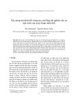 """Báo cáo nghiên cứu khoa học """" Xây dựng mô hình đối xứng tựa cân bằng để nghiên cứu sự tiến triển của xoáy thuận nhiệt đới """""""