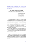 """Báo cáo nghiên cứu khoa học """" Thử nghiệm tính hằng số điều hòa thủy triều 68 sóng cho vùng biển Việt Nam theo bộ chương trình của TSLC (Mỹ) """""""