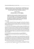"""Báo cáo nghiên cứu khoa học """"  Kết quả tính toán lựa chọn hàm vận chuyển bùn cát thích hợp nhất cho đoạn sông Hồng từ Hoà Bình đến Hà Nội nhờ ứng dụng mô hình GSTARS 2.1 """""""