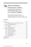 Handbook of plant based biofuels - Chapter 16