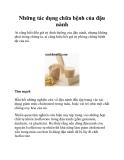 Những tác dụng chữa bệnh của đậu nành