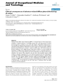 """báo cáo hóa học: """"  Clinical consequences of asbestos-related diffuse pleural thickening: A review"""""""