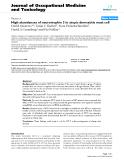 "báo cáo hóa học:""   High abundances of neurotrophin 3 in atopic dermatitis mast cell"""