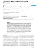 """báo cáo hóa học:""""   Biomechanics and anterior cruciate ligament reconstruction"""""""