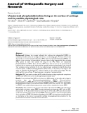 "báo cáo hóa học:""  Unsaturated phosphatidylcholines lining on the surface of cartilage and its possible physiological roles"""