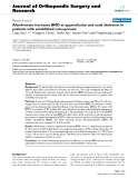"""báo cáo hóa học:""""   Alendronate increases BMD at appendicular and axial skeletons in patients with established osteoporosis"""""""