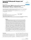 "báo cáo hóa học:""   Clinical examination, MRI and arthroscopy in meniscal and ligamentous knee Injuries – a prospective study"""