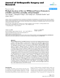 """báo cáo hóa học:""""  Multiple functions of the von Willebrand Factor A domain in matrilins: secretion, assembly, and proteolysis"""""""
