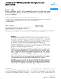 "báo cáo hóa học:""  Failure of dual radius hydroxyapatite-coated acetabular cups"""