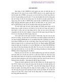 """ĐỀ TÀI: """"HOÀN THIỆN KẾ TOÁN NGUYÊN VẬT LIỆU - CÔNG CỤ DỤNG CỤ TẠI CÔNG TY CỔ PHẦN XÂY DỰNG SỐ 4 THĂNG LONG""""."""