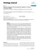 "báo cáo hóa học:""  Genome structure and transcriptional regulation of human coronavirus NL63"""