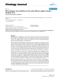 """báo cáo hóa học:""""  Macrophages and cytokines in the early defence against herpes simplex virus"""""""