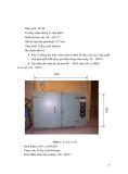 Báo cáo dự án - Sản xuất thử nghiệm zeolit A  dạng bột và hạt dùng cho xử lý môi trường part 2