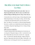 Đặc điểm và kỹ thuật Nuôi Cá Betta ( Lia Thia)