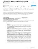 "báo cáo hóa học:""  Minimal stress shielding with a Mallory-Head titanium femoral stem with proximal porous coating in total hip arthroplasty"""