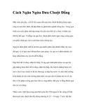 Cách Ngăn Ngừa Dưa Chuột Đắng