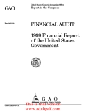 United States General Accounting Office  GAO March 2000  Report to the Congress _part1