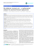 """báo cáo hóa học:""""  Hip abductor moment arm - a mathematical analysis for proximal femoral replacement"""""""