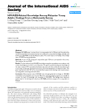 """báo cáo hóa học:""""  HIV/AIDS-Related Knowledge Among Malaysian Young Adults: Findings From a Nationwide Survey"""""""