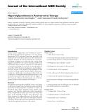"báo cáo hóa học:""  Hypertriglyceridemia in Antiretroviral Therapy"""
