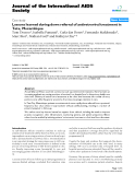 """báo cáo hóa học:"""" Lessons learned during down referral of antiretroviral treatment in Tete, Mozambique"""""""