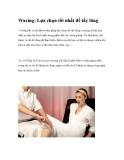 Waxing: Lựa chọn tốt nhất để tẩy lông
