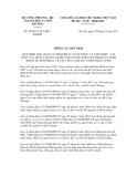 Thông tư liên tịch số 47/2011/TTLT-BCTBTNMT