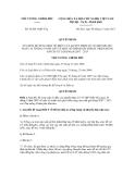 Quyết định số 66/2011/QĐ-TTg