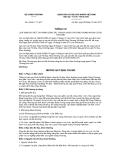 Thông tư số 43/2011/TT-BCT