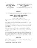 Quyết định số 29/2011/NQ-HĐND