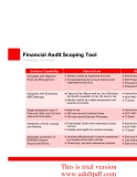 Financial Audit Scoping Tool Accelerator for Oracle GRC Applications_part2