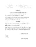 Quyết định số 1531/QĐ-BHXH