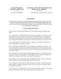Quyết định số 43/2011/QĐ-UBND
